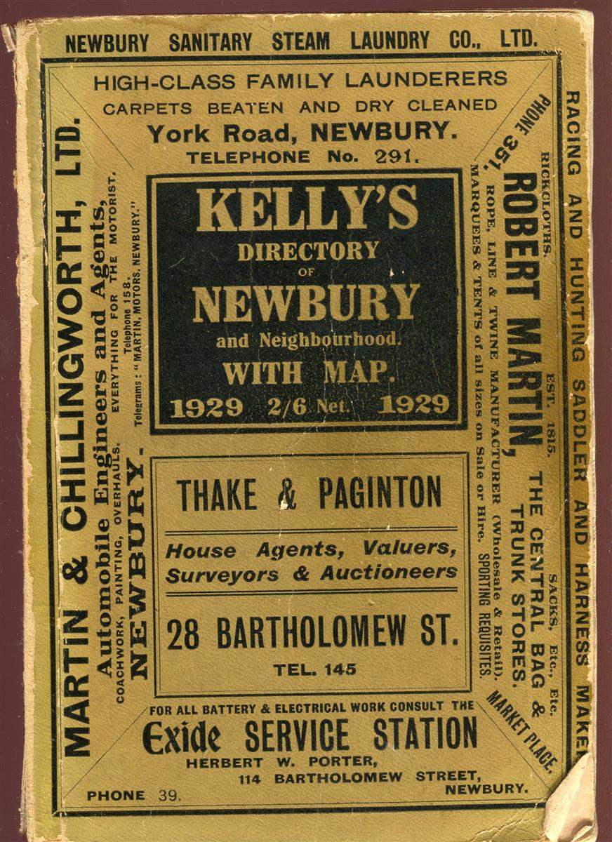 1929 Kelly's DIrectory.